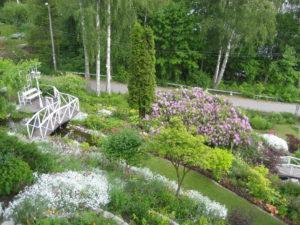 Piha- ja puistosuunnitelmat